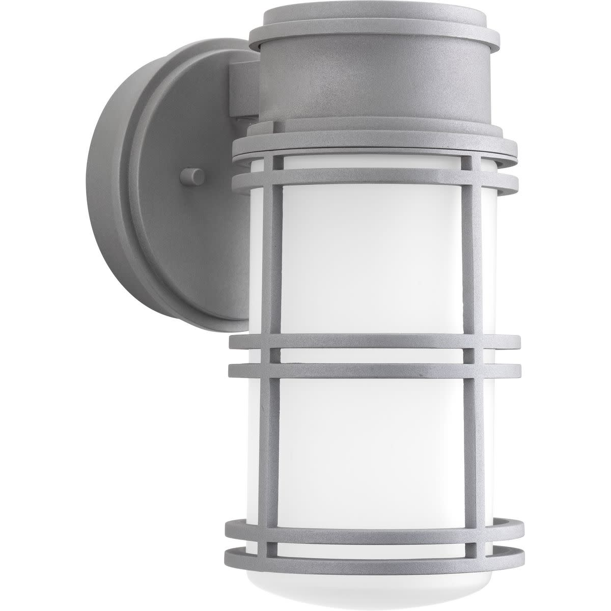 """Progress Lighting P5676-LED Bell 11"""" Tall Single Light LED Energy Star Outdoor Wall Sconce with Cylinder Shade"""