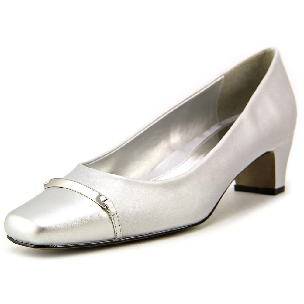 Easy Street Alexis N S Square Toe Synthetic Heels by Easy Street