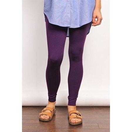 Seamless Fleece Plus Leggings