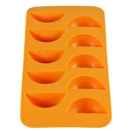 Orange Slice Ice Cube Tray - Orange Ice Cubes