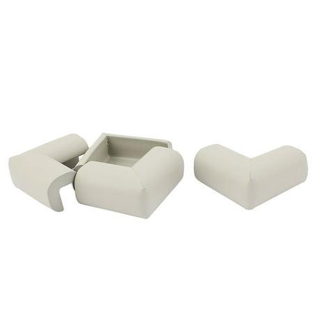 Safety Furniture Corner Edge Guard Foam Cushions Protectors Coffee Color