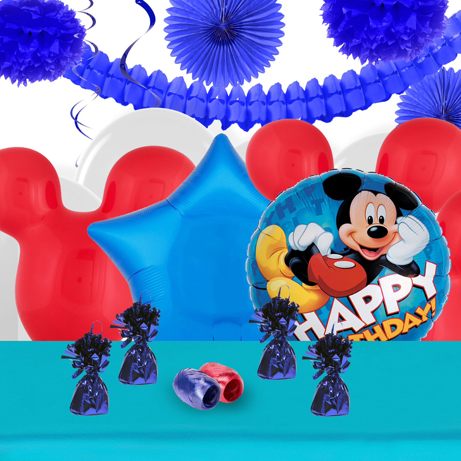 Mickey Roadster Decoration Kit