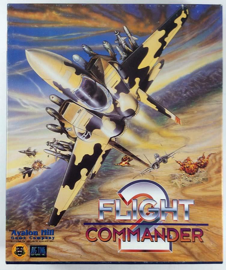 Flight Commander 2 Lightly Used by Avalon Hill