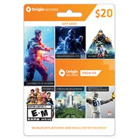 EA - Origin $20 Wallet Card, Electronic Arts, PC, [Digital Download]