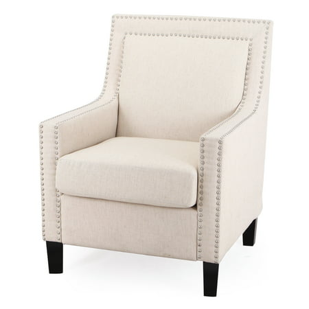 Adeco Trading Modern Accent Chair White