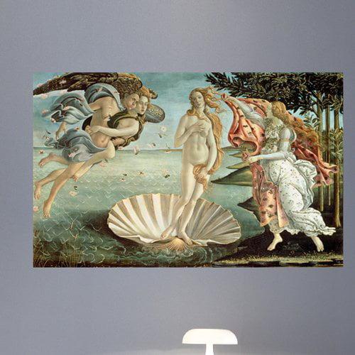 Wallhogs Botticelli The Birth of Venus (1485) Wall Mural