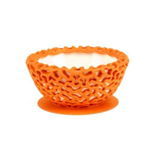 Boon Wrap Protective Bowl Cover, Tangerine Multi-Colored