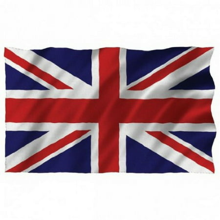 5ft x 3ft Great Britain Union Jack UK Country National Flags Indoor Outdoor Polyester 1 Pack with Eyelets