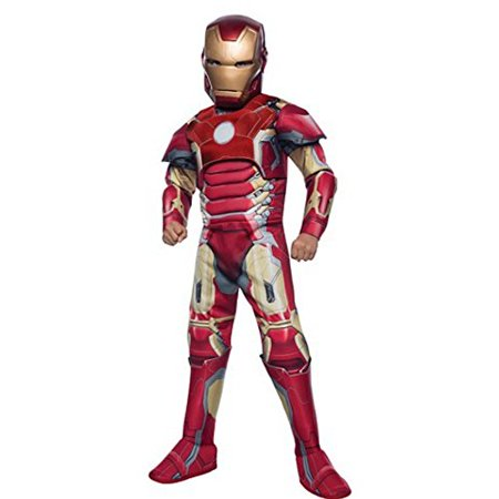 Marvel Avengers Age of Ultron- Iron Man Costume Boys (Large 8-10)