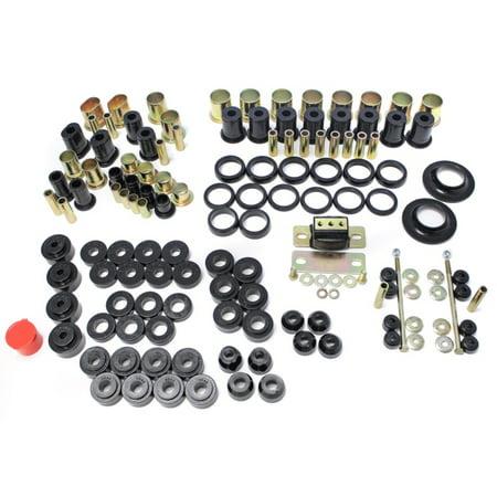 Energy Suspension 66-72 Chevelle Black Hyper-flex Master Bushing Set