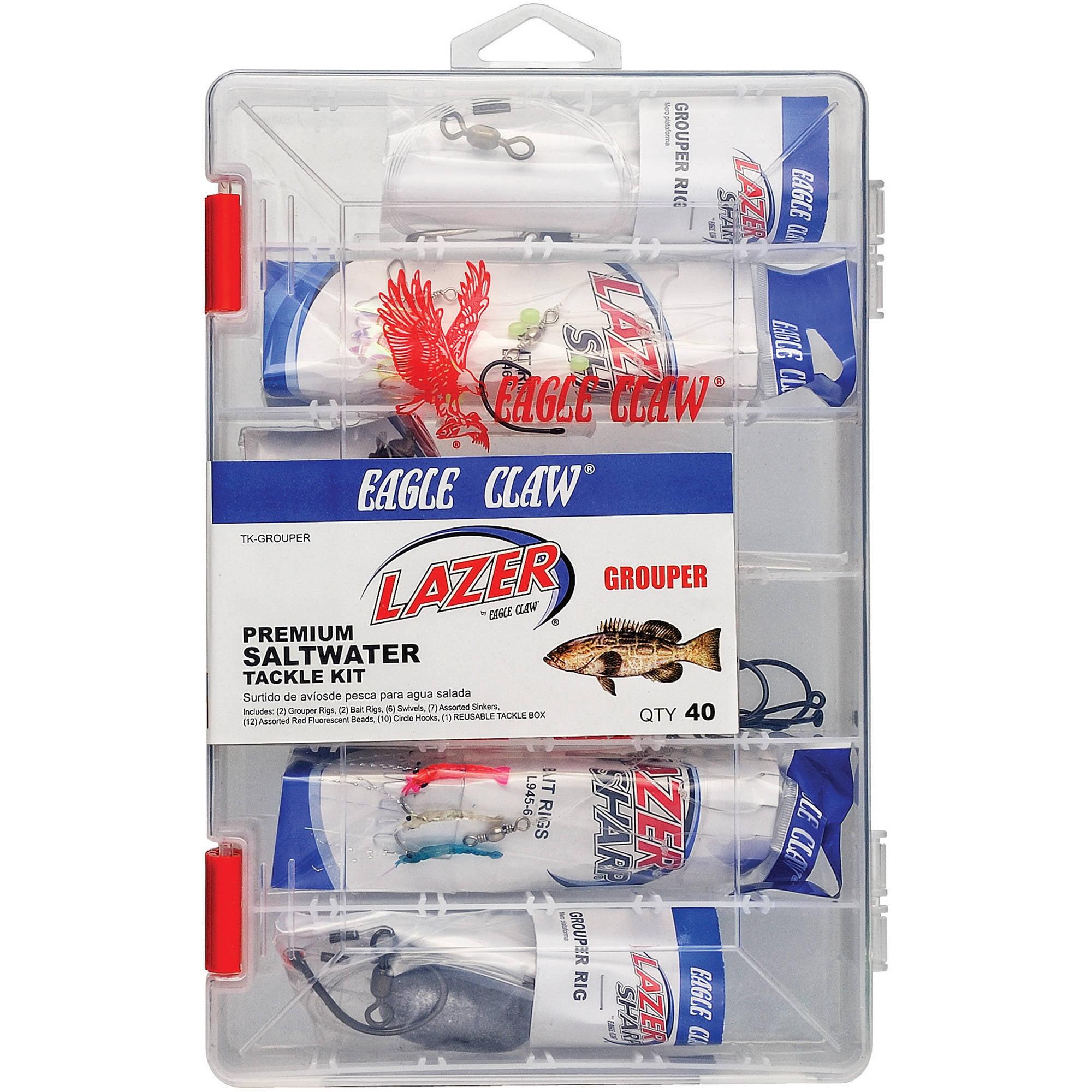 Lazer Sharp Saltwater Grouper Tackle Kit