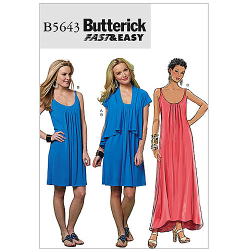 Butterick Pattern Misses' Jacket and Dress, EE (14, 16, 18, 20)