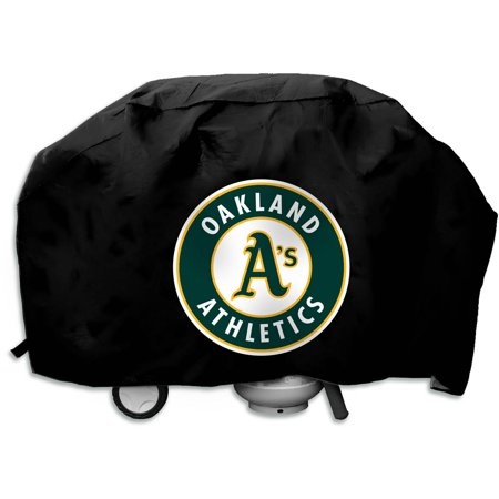 MLB Rico Industries Deluxe Grill Cover, Oakland A