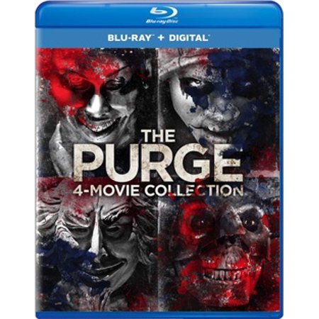 The Purge: 4-Movie Collection (Blu-ray) - The Purge Characters Halloween