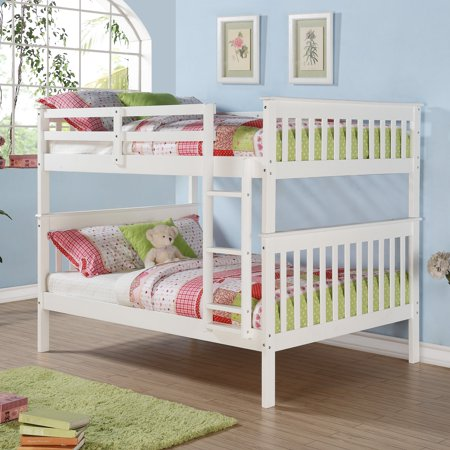 Donco Kids Full Over Full Mission Bunk Bed Walmart Com