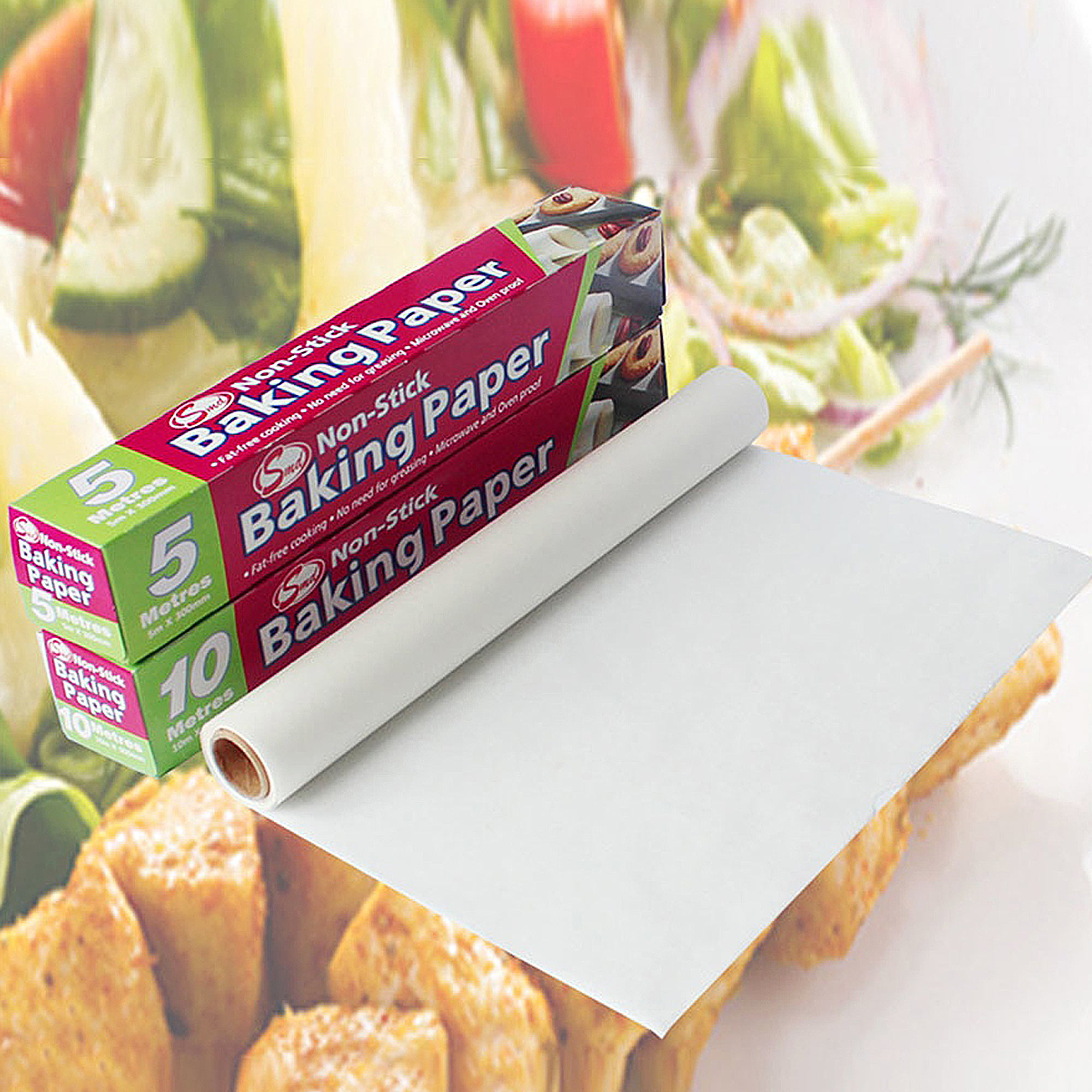 Baking Sheets Greaseproof Paper Silicone Paper Parchment Baking Paper