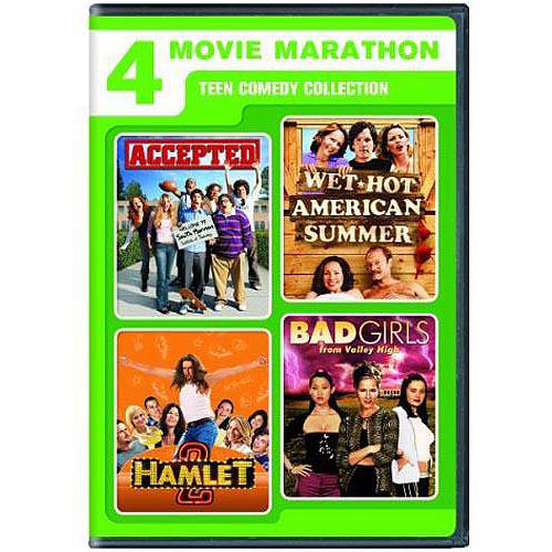 4 Movie Marathon: Teen Comedy Collection - Accepted / Wet Hot American Summer / Hamlet 2 / Bad Girls From Valley High (Widescreen)
