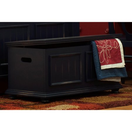 JOHN BOYD DESIGNS Notting Hill Storage Trunk Wood Top