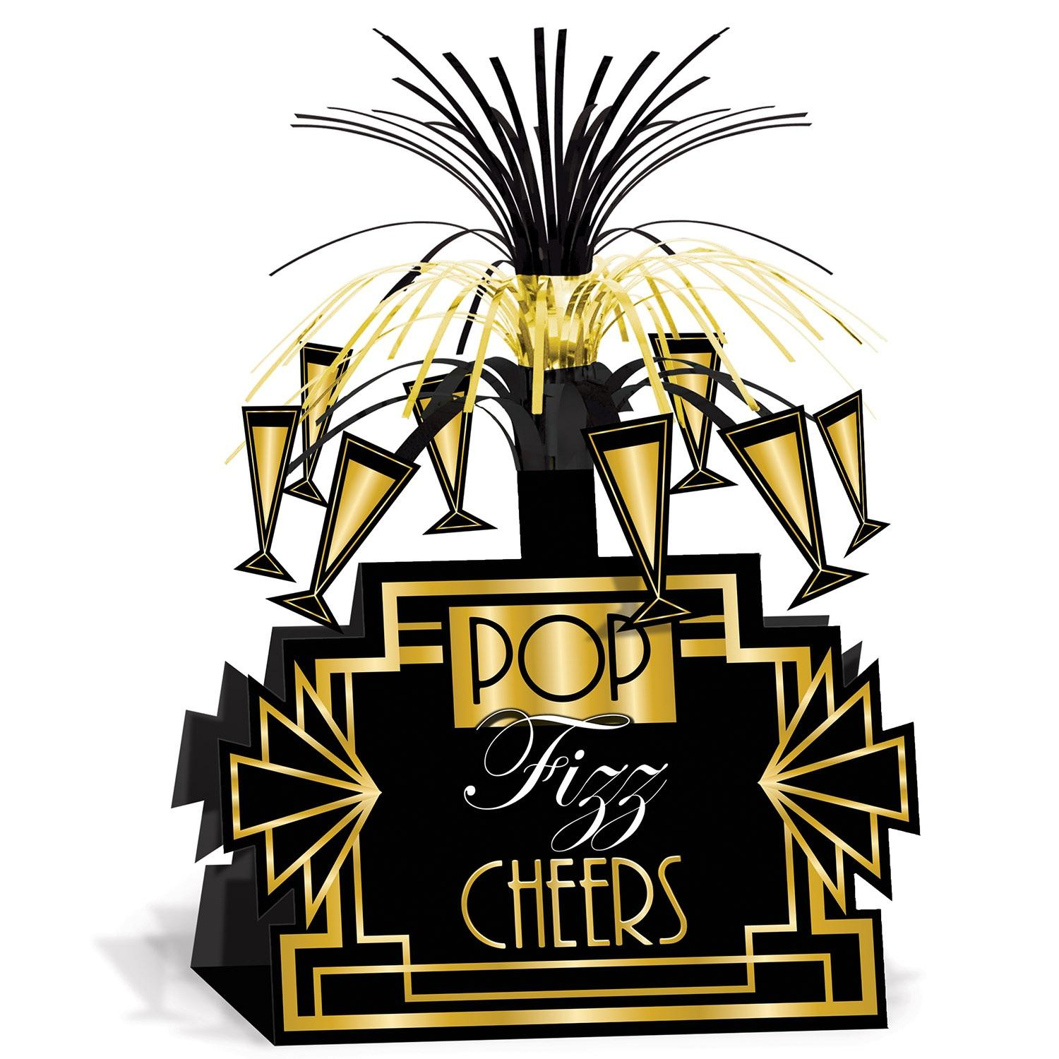 """Club Pack of 12 Great 20's Hollywood Table Top Centerpieces Party Decorations 13"""""""