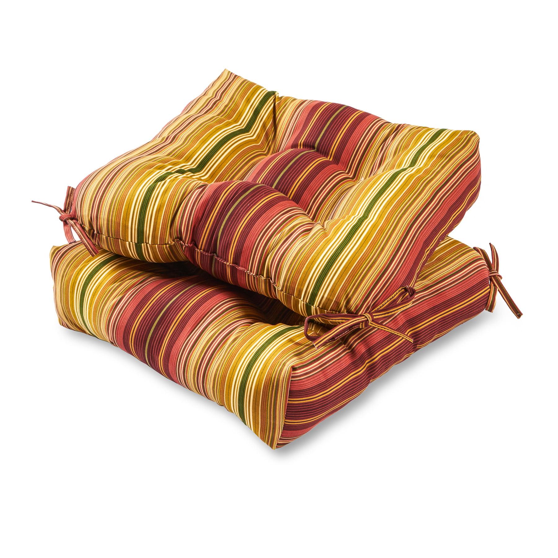 Greendale Home Fashions Kinnabari 20'' Outdoor Chair Cushion, Set of 2