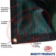 Mighty Products BMN-MS90-G2050 20 x 50 ft. - 90 Percent Premium Shade Fabric, Shade Cloth, Shade Sail, Sun Shade - Green