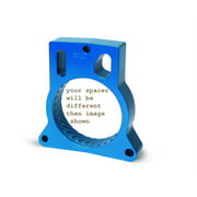 Jet Performance 62113 Throttle Body Spacer, Blue Anodized Aluminum
