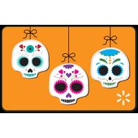 Bright Skulls Walmart Gift Card