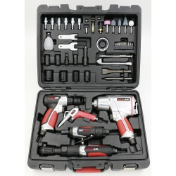 EXELAIR 50-Piece Professional Air Tool Accessory Kit by Milton
