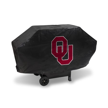 Oklahoma Sooners NCAA DELUXE Heavy Duty BBQ Barbeque Grill Cover