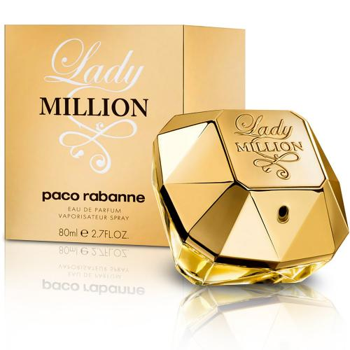 Paco Rabanne Lady Million Eau de Parfum, Perfume for Women, 2.7 Oz