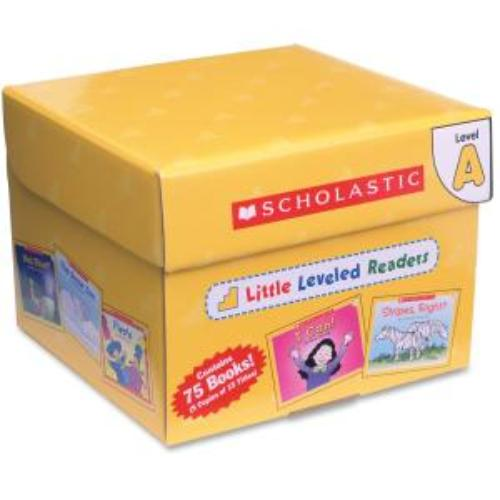 Scholastic Little Leveled Readers: Level A Box Set Education Printed Book - English - Published On: 2003 August 1 - Book (shs-0545067693)