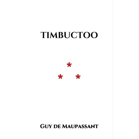 Timbuctoo - eBook