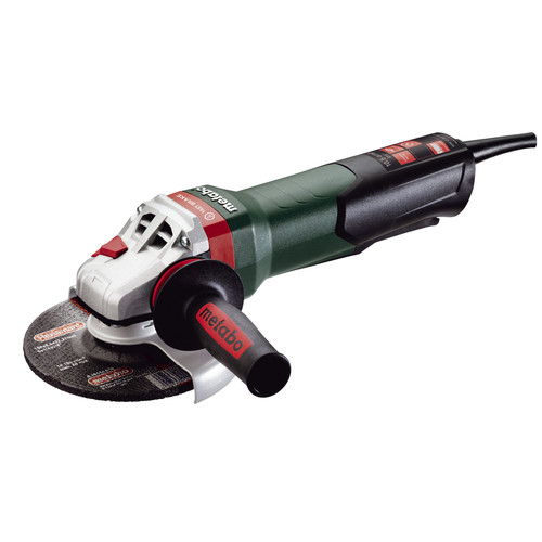 Metabo 600432420 10.5 Amp 6 in. Angle Grinder with Brake and Non-Locking Paddle Switch