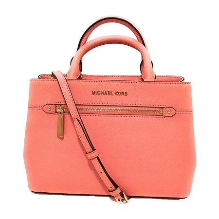 MICHAEL Michael Kors Women's HAILEE XSMALL Satchel Handbag in Peach