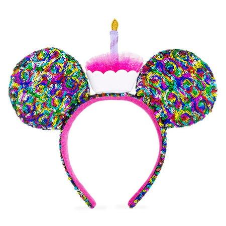 Disney Mickey Ears (Disney Parks Mickey Mouse Birthday Ear Headband New with)
