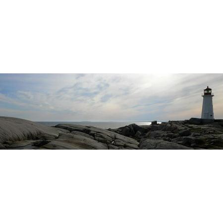 (Lighthouse II, Fine Art Photograph By: Jim Christensen; One 36x12in Fine Art Paper Giclee Print)