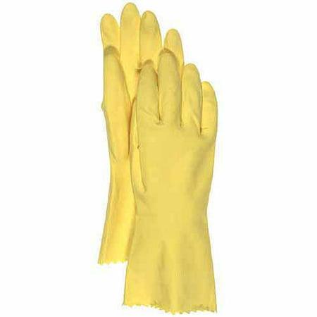 Boss Gloves Large Flock Lined Latex Gloves