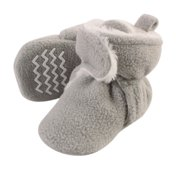 Hudson Baby Newborn Boy or Girl Unisex Sherpa Lined Booties