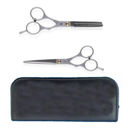 5.5' Hair Shears (Professional Barber Scissors Hair Cutting Thinning 5.5
