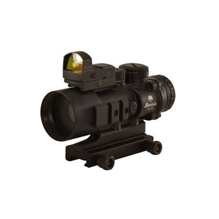 AR Prism Sight Ballistic CQ Reticle with Free FastFire III Reflex Red Dot (Best Night Sights For Ar 15)