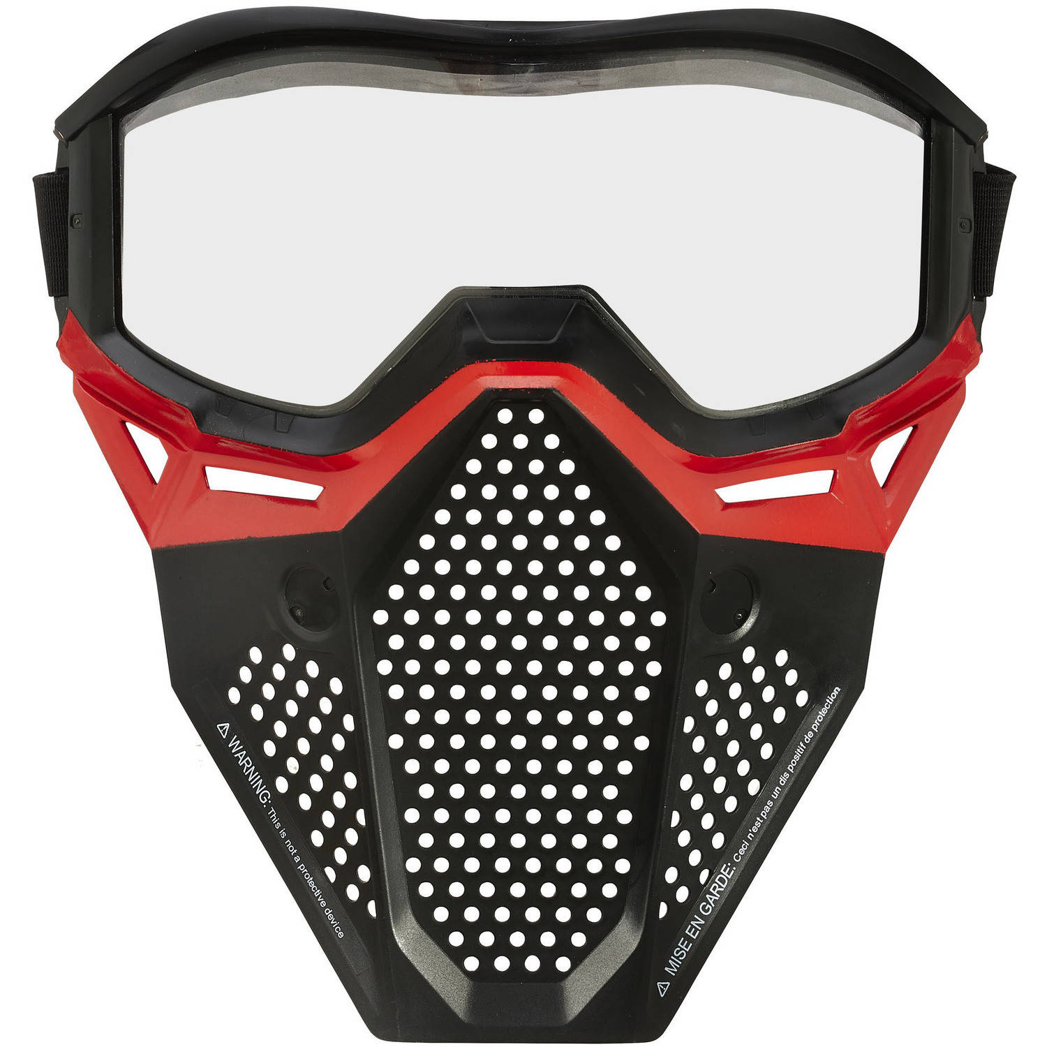 Nerf Rival Face Mask, Red by Hasbro