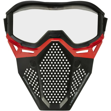 Nerf Rival Face Mask (Red) - Red Face Mask
