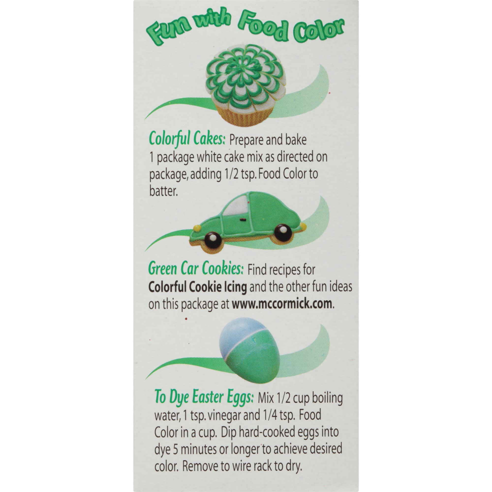 McCormick Green Food Color, 1 fl oz - Walmart.com