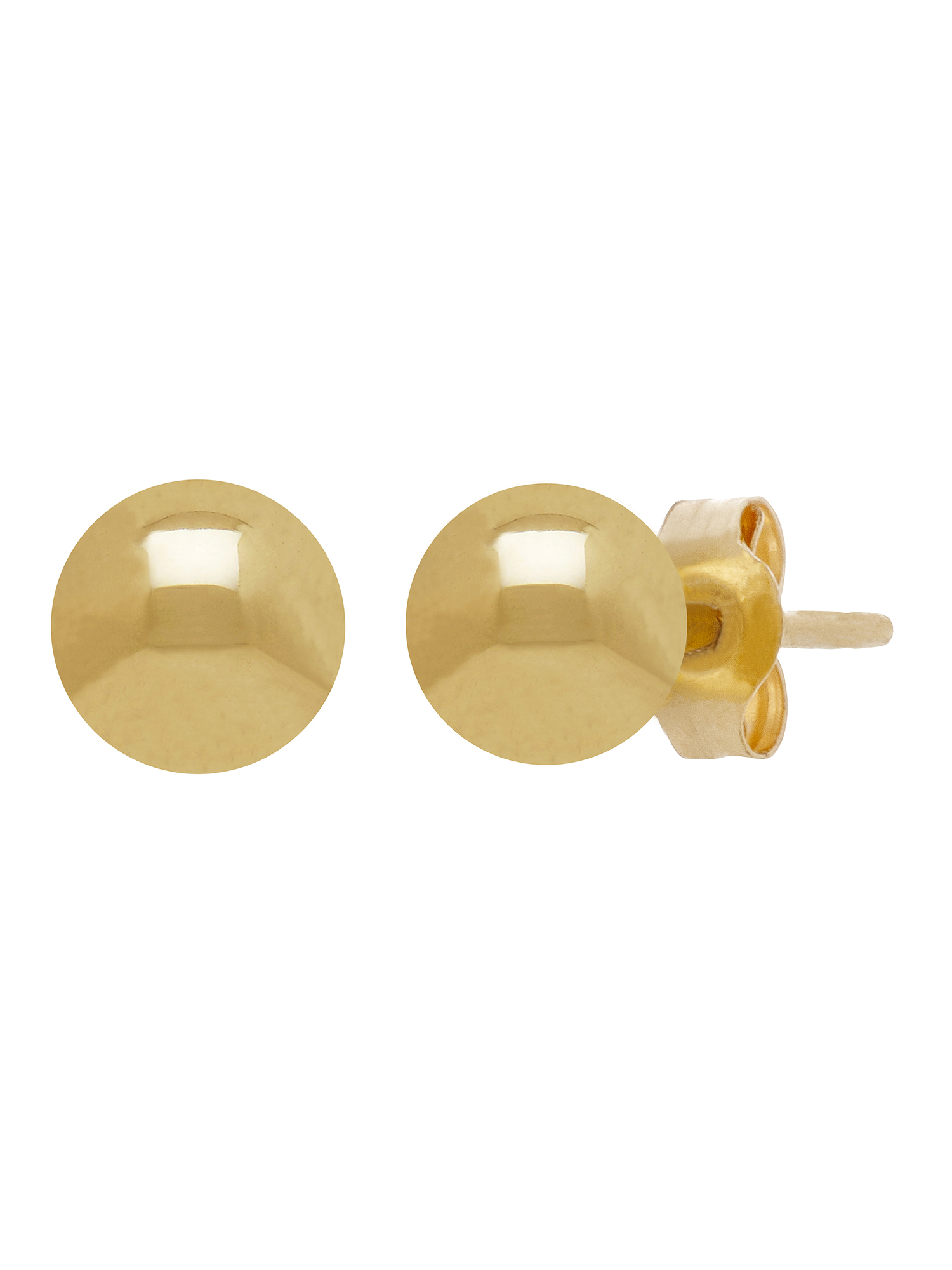 Simply Gold™ 10KT Yellow Gold 5mm Ball Stud Earrings