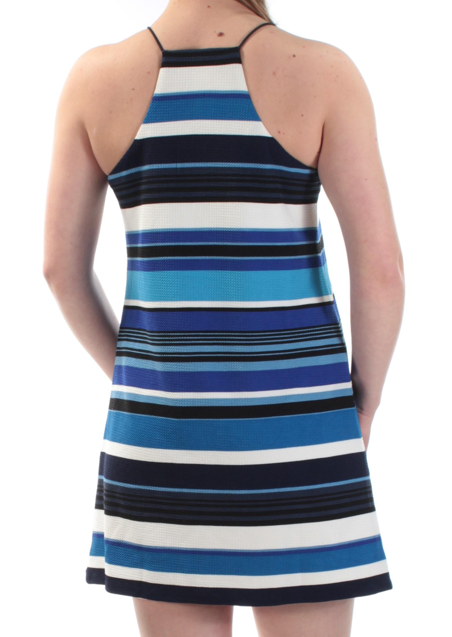 Bar Iii Blue Womens Clothing Size Xl Dress
