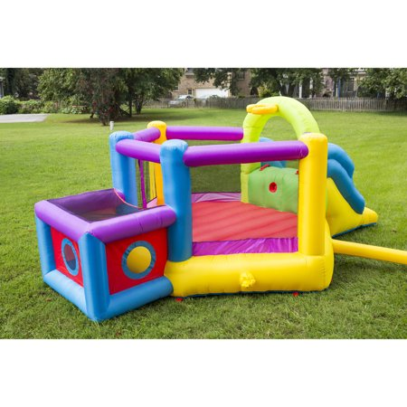 Super Bouncer - Magic Time Bounce 'N' Play Super Fort Sport Bouncer