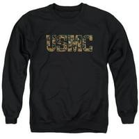 Us Marine Corps - Usmc Camo Fill - Crewneck Sweatshirt - X-Large