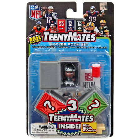 Duke Locker Room - NFL TeenyMates Series 6 Locker Room Set