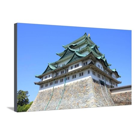 Nagoya Castle Stretched Canvas Print Wall Art By Tupungato
