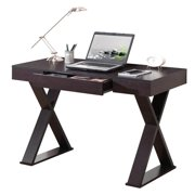 Techni Mobili Trendy Writing Desk with Drawer, Espresso